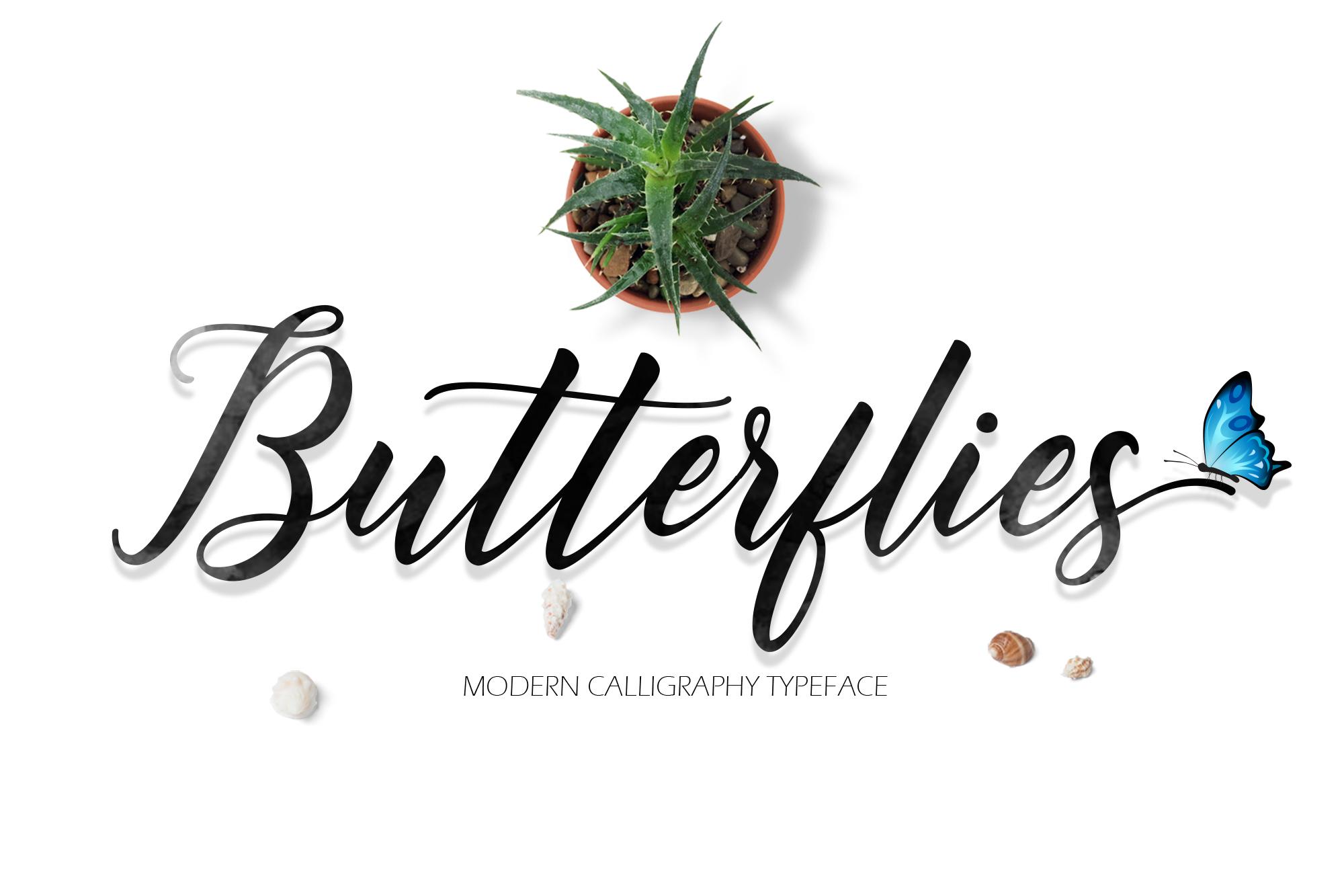 Butterflies Script example image 1