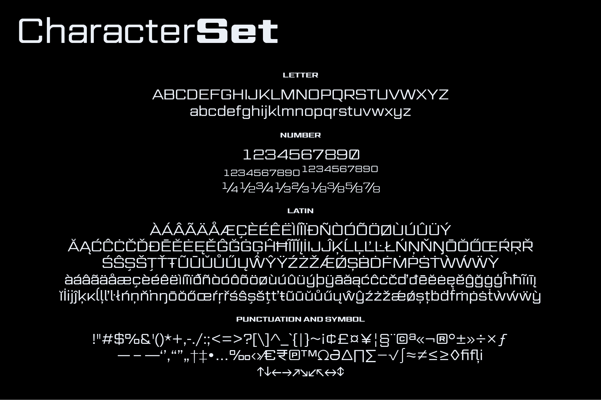 Gemini Cluster - Expanded Futuristic Fonts example image 4