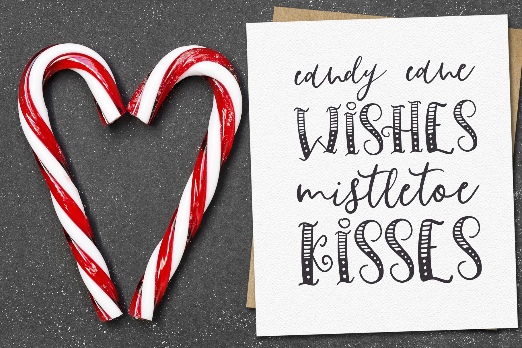 Ho-Ho-Holiday Fonts collection example image 8