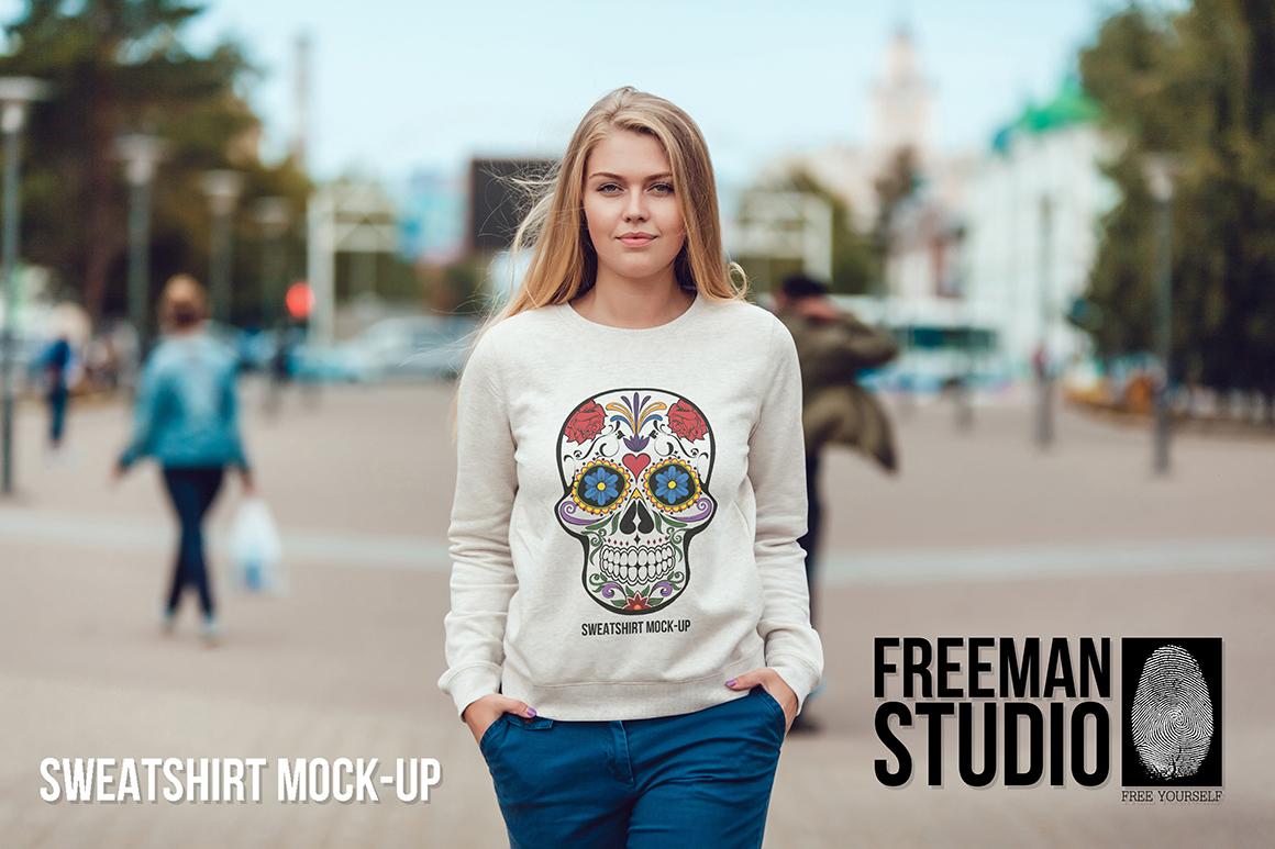 Sweatshirt Mock-Up Vol. 1 example image 1