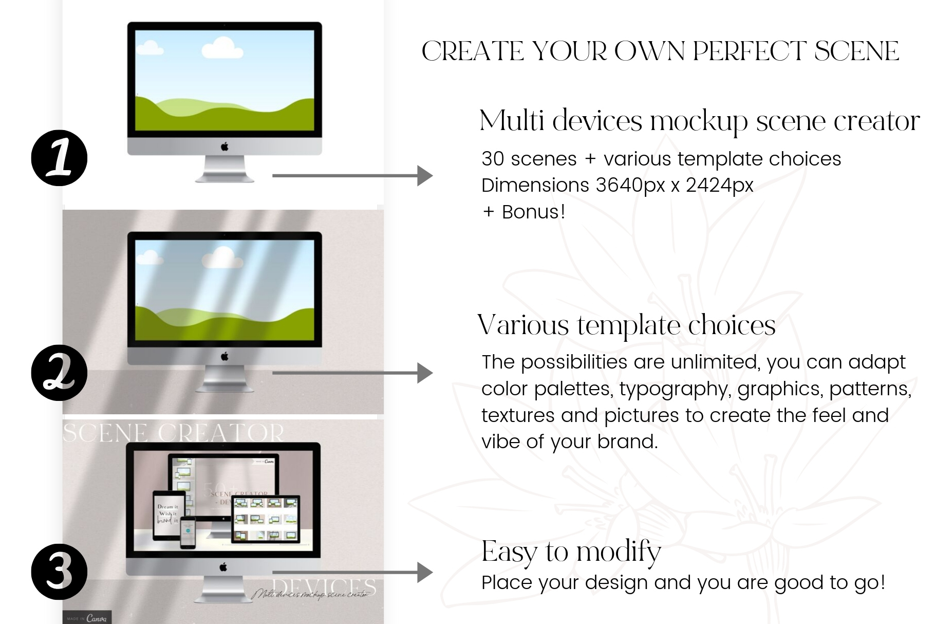 Canva Devices Mockup Scene Creator example image 5