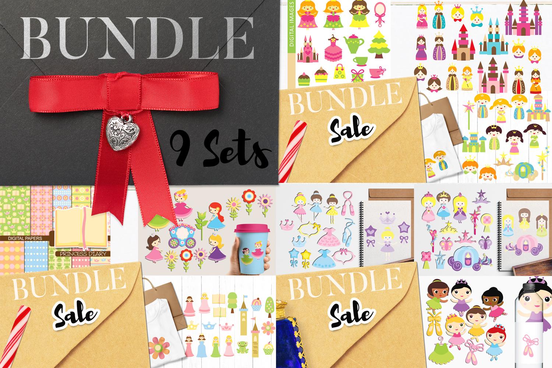 Just For Girls Clip Art Illustrations Huge Bundle example image 28