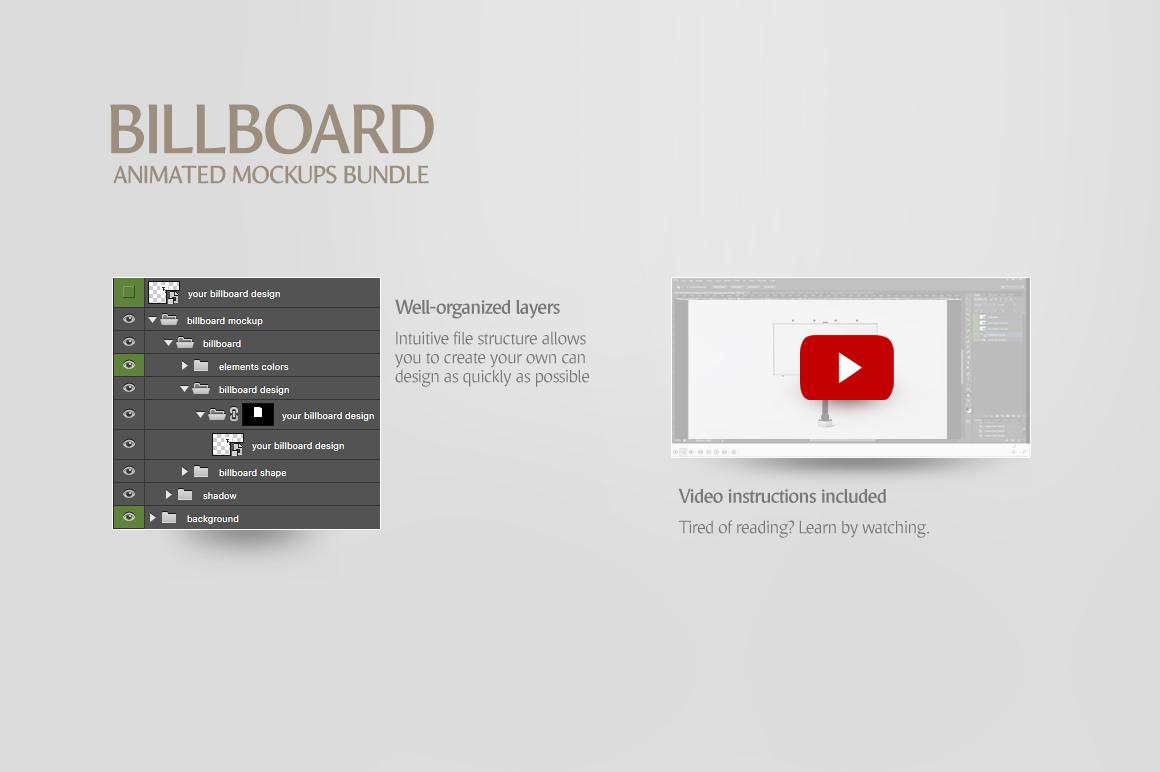 Billboard Animated Mockups Bundle example image 9