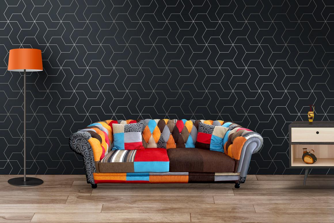 Lyxury seamless ornate patterns. example image 7