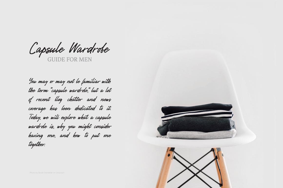 Gentlemen's Script example image 9