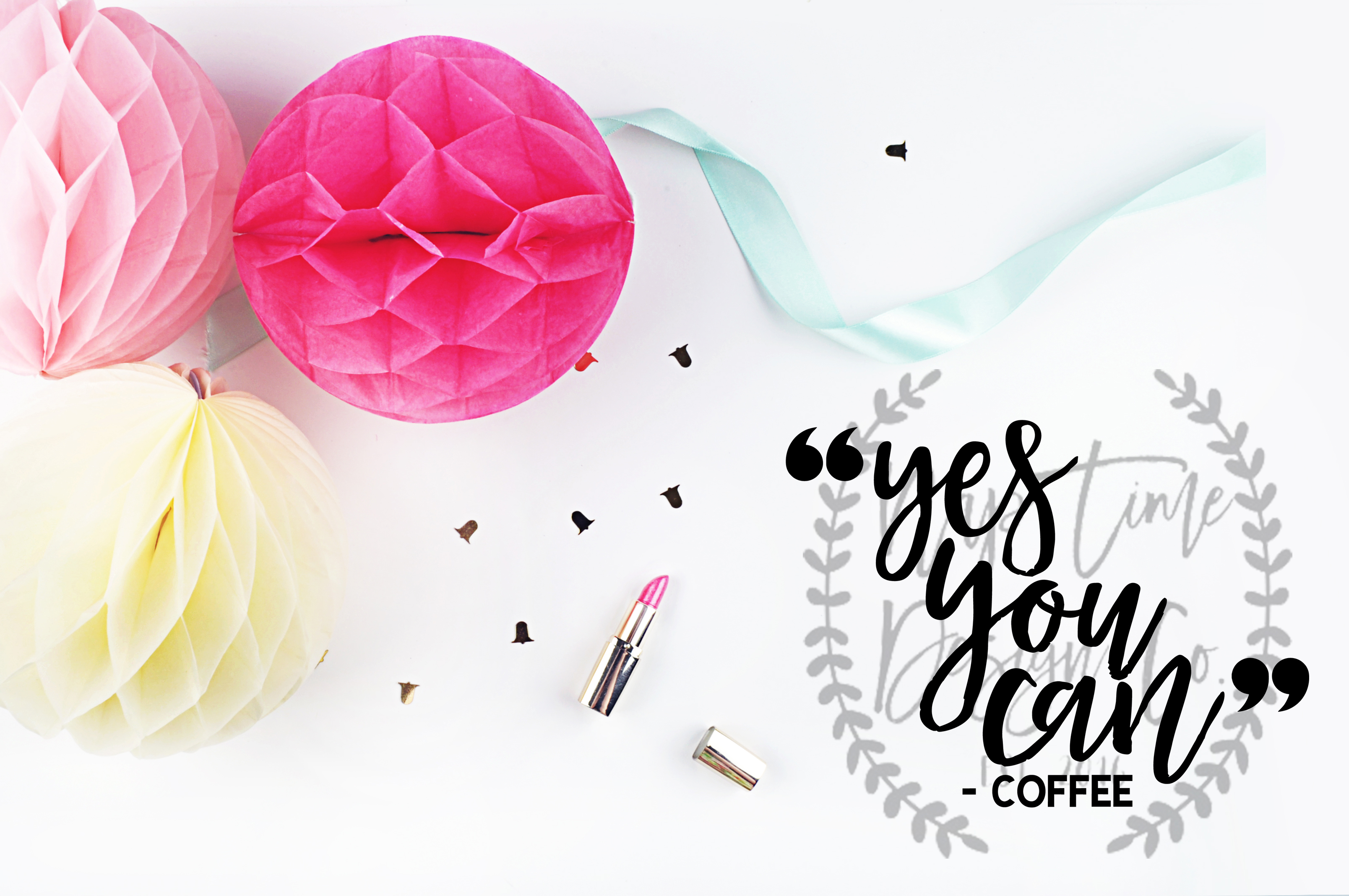 Yes You Can Coffee SVG example image 1