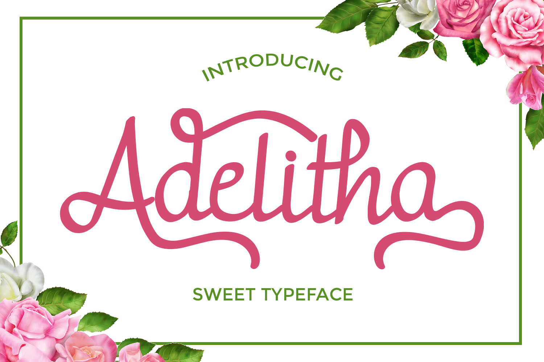 Adelitha Font example image 1
