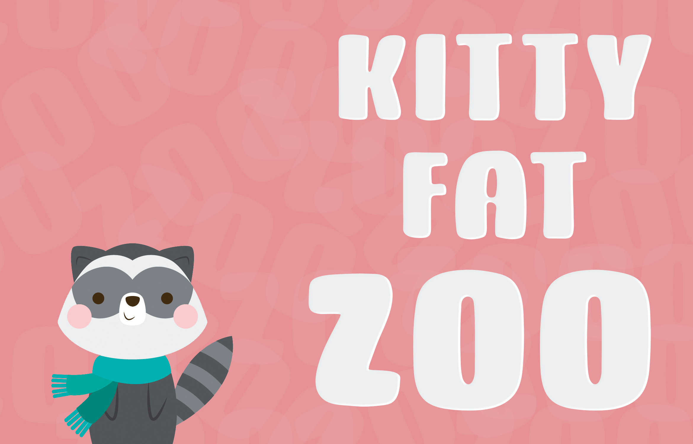 Kitty Fat - Handwritten Font example image 3