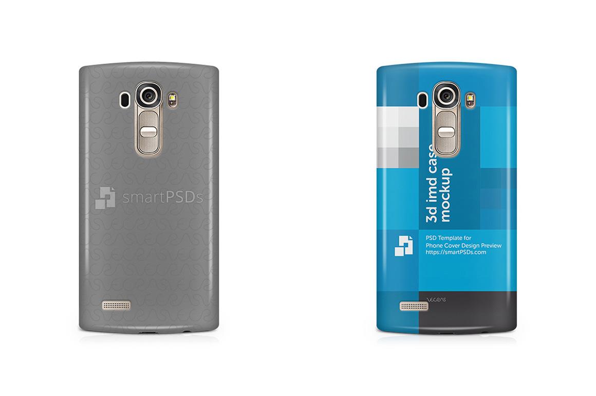 LG G4 3d IMD Mobile Case Design Mockup 2015 example image 1