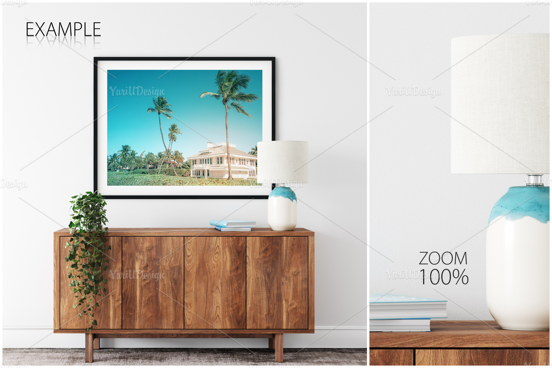 Frames & Walls Coastal Mockups Bundle example image 17