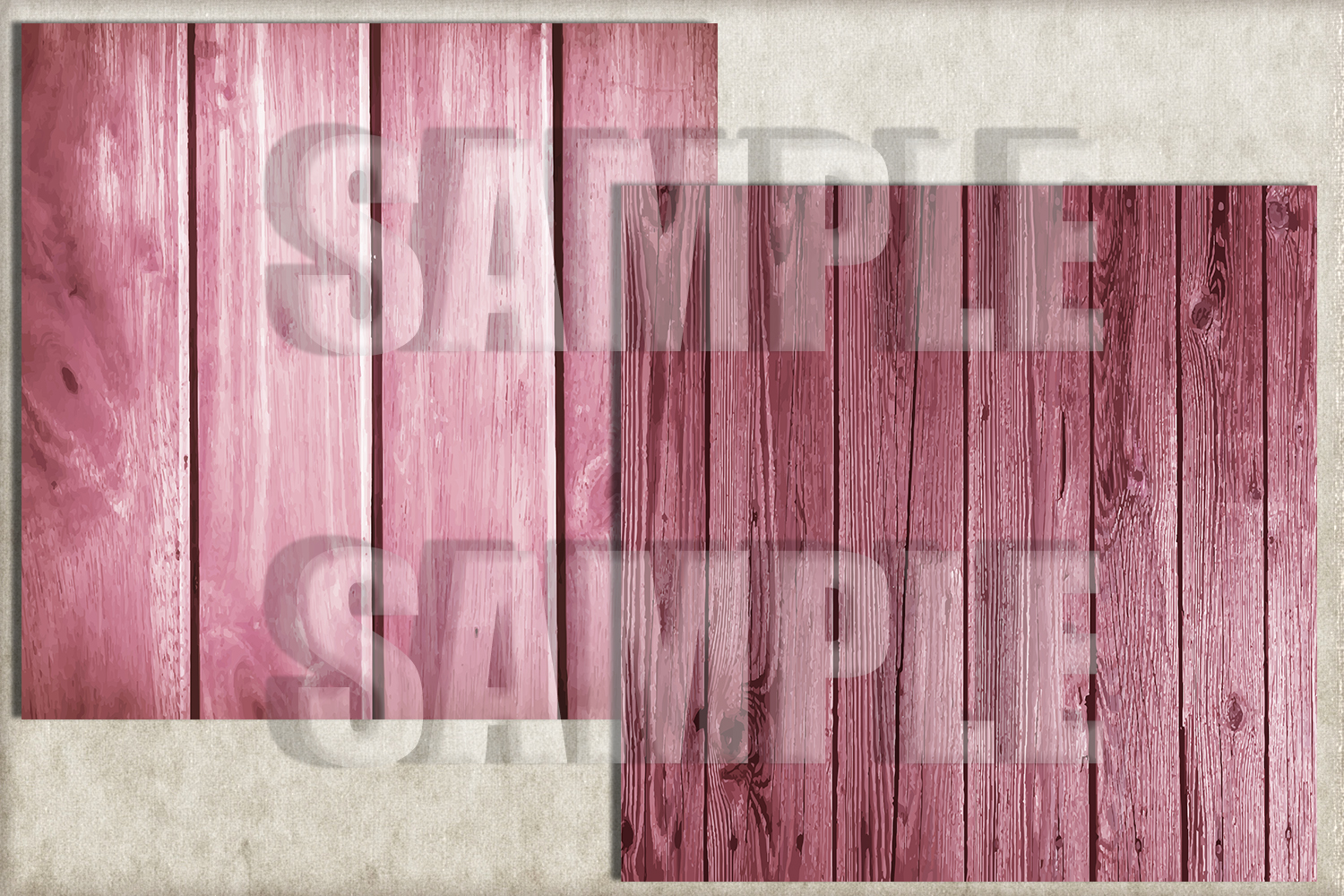 Pink Rustic Wood Digital Paper, Digital Background example image 3