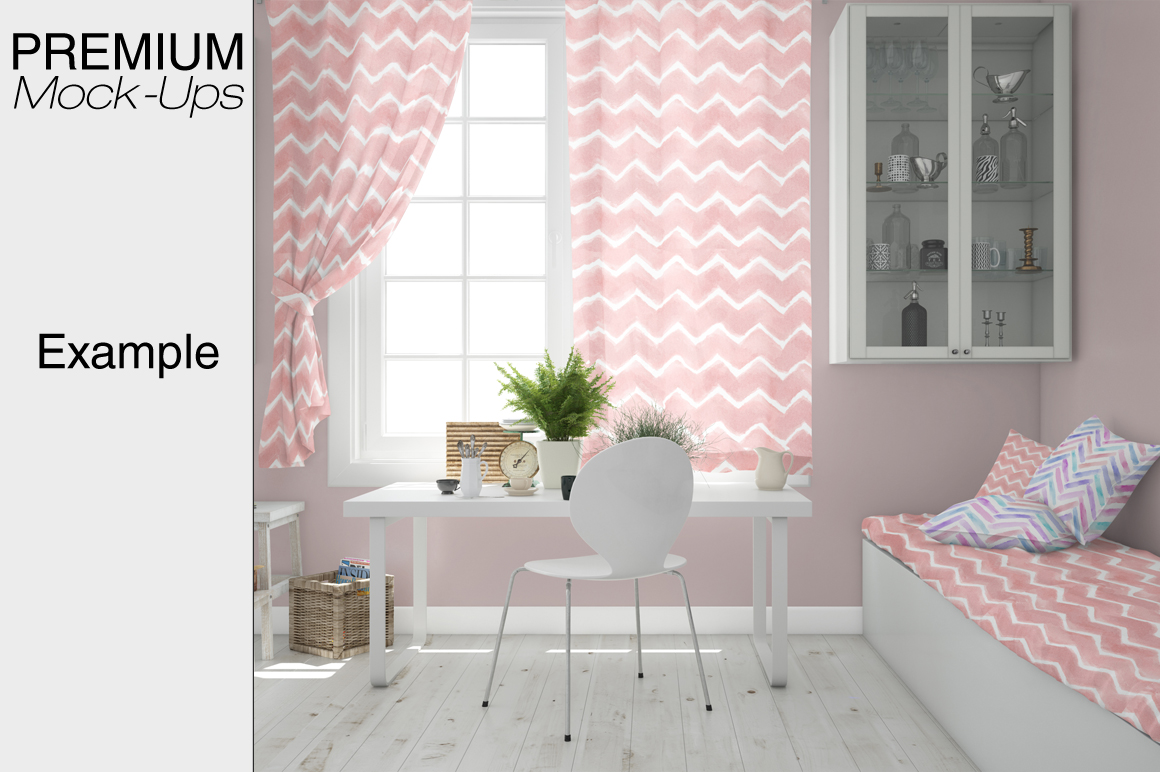 Pillows & Curtains Set - Kitchen example image 4