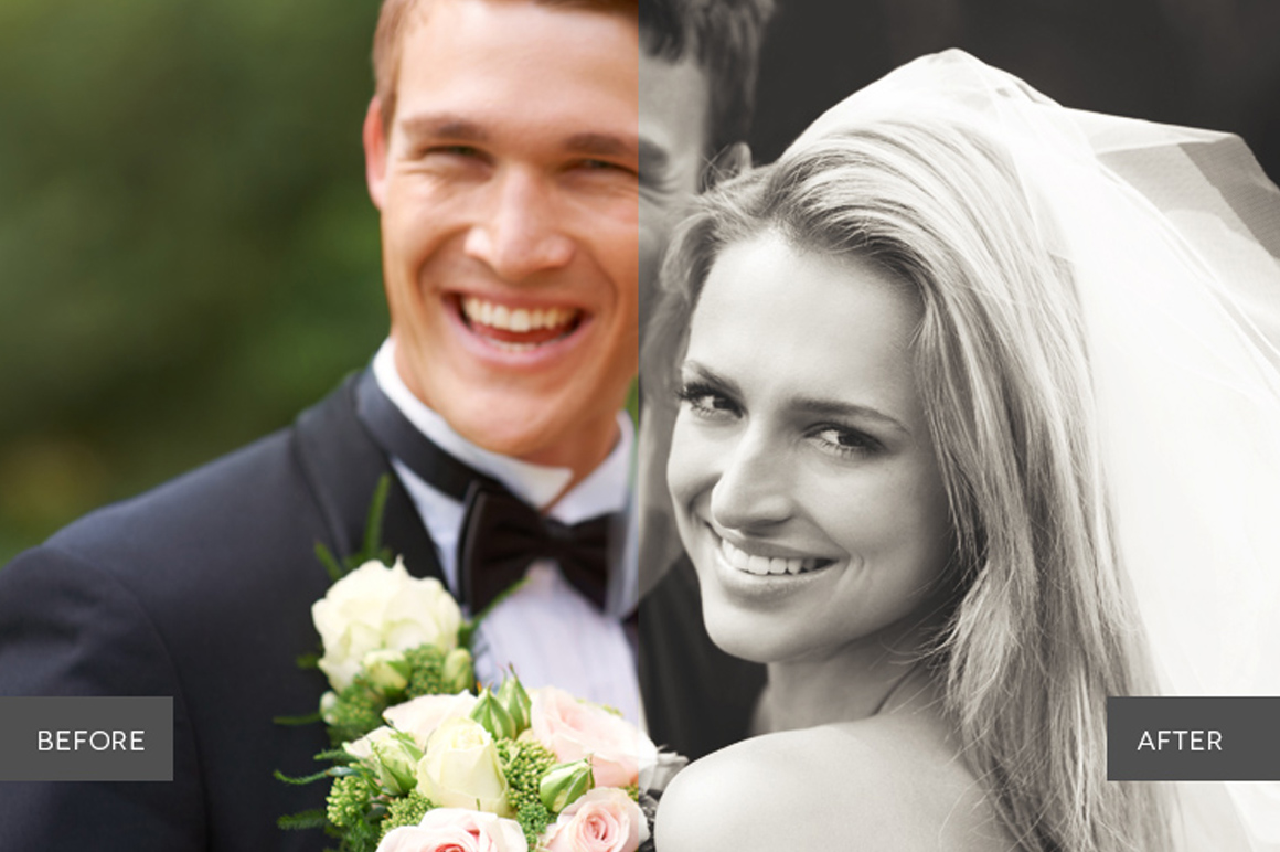 Weddingful Photoshop Actions example image 3