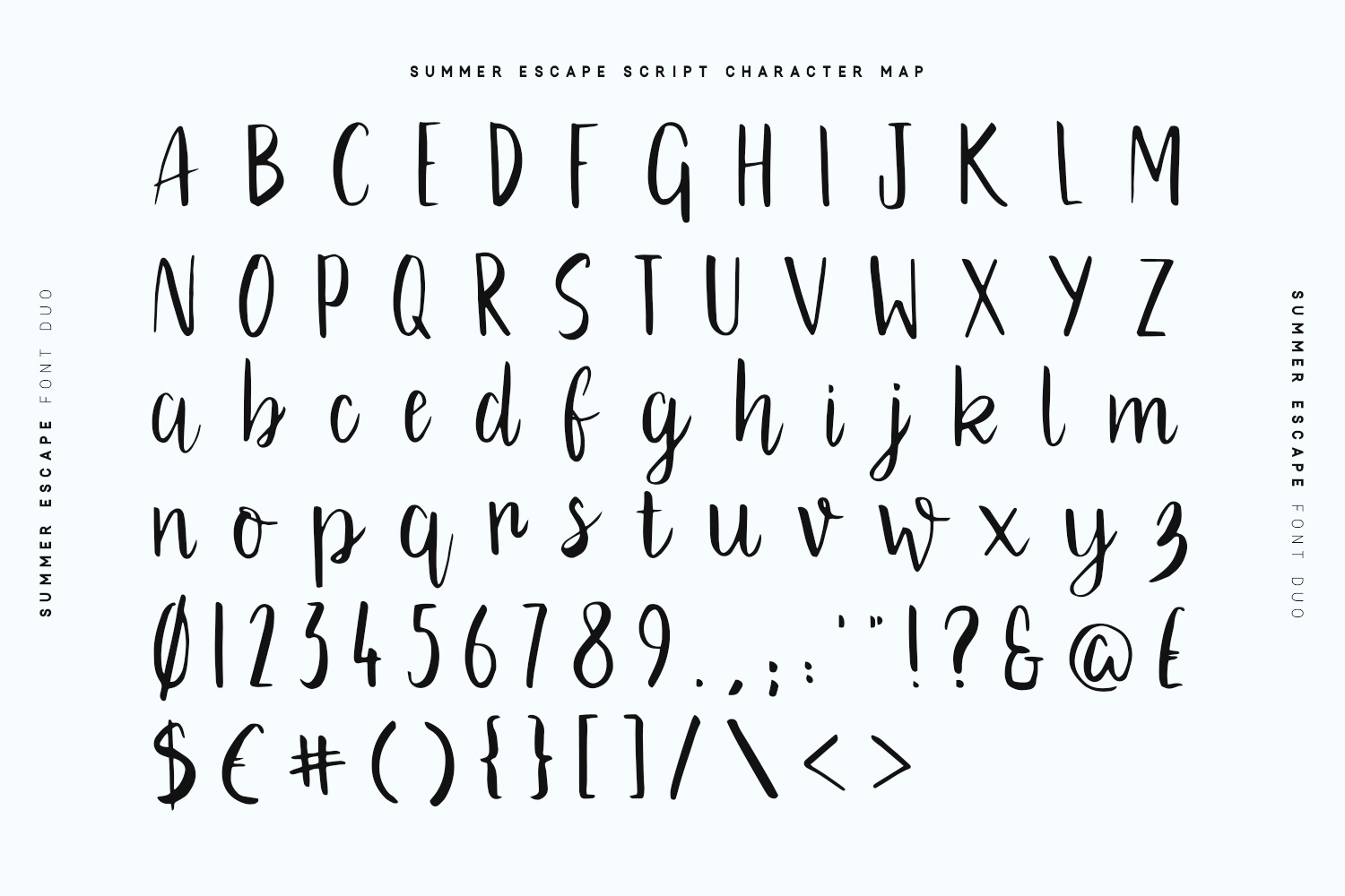 Summer Escape Font Duo example image 8