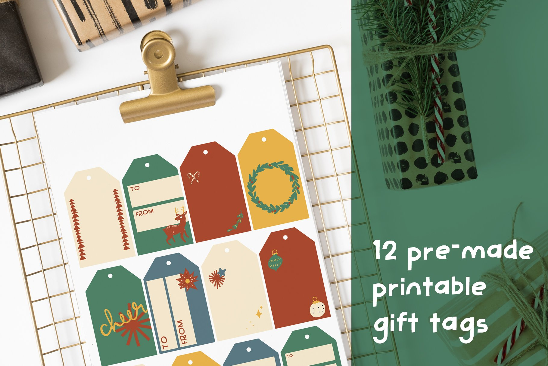 Handmade Holiday Illustrations example image 4