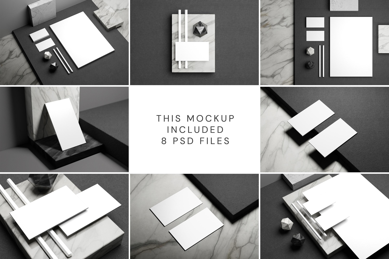 Minimal Corporate Stationery Mockup example image 12