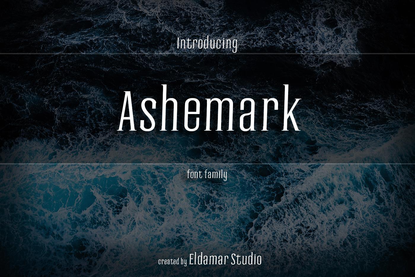 Ashemark Font example image 1
