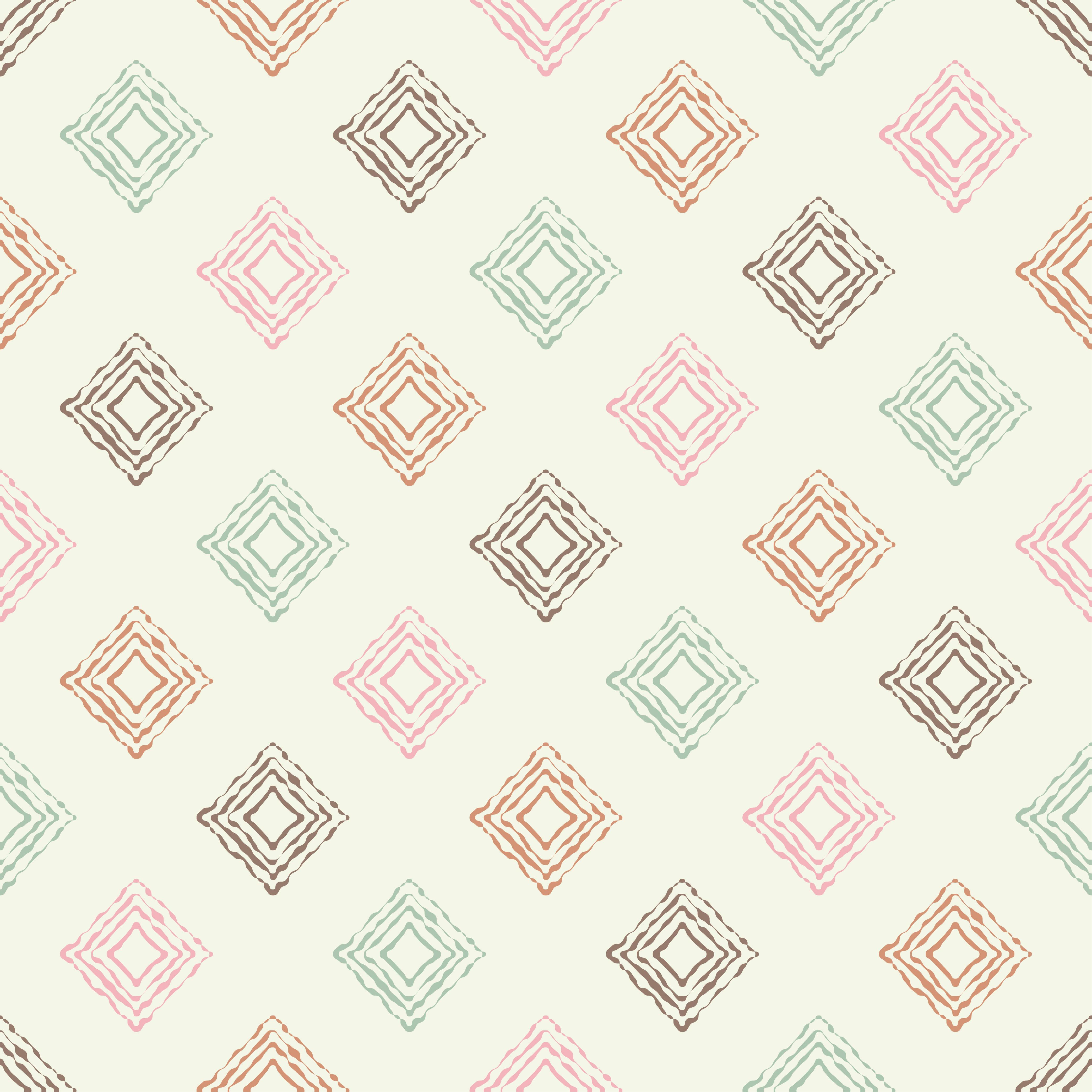 6 Ethnic boho seamless pattern. Scribble texture. Retro motif. example image 2
