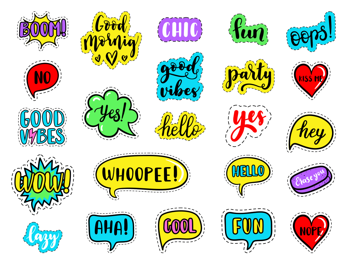 100 Funny patches 27 patterns example image 4