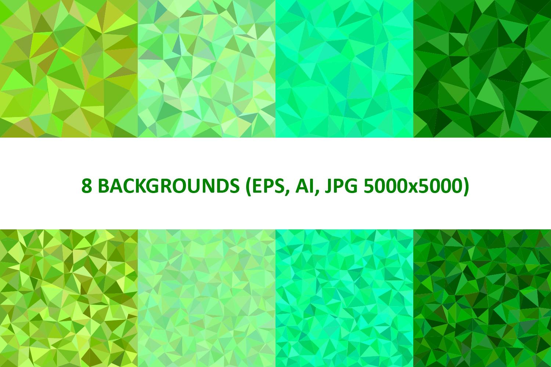 48 Triangle Backgrounds AI, EPS, JPG 5000x5000 example image 2
