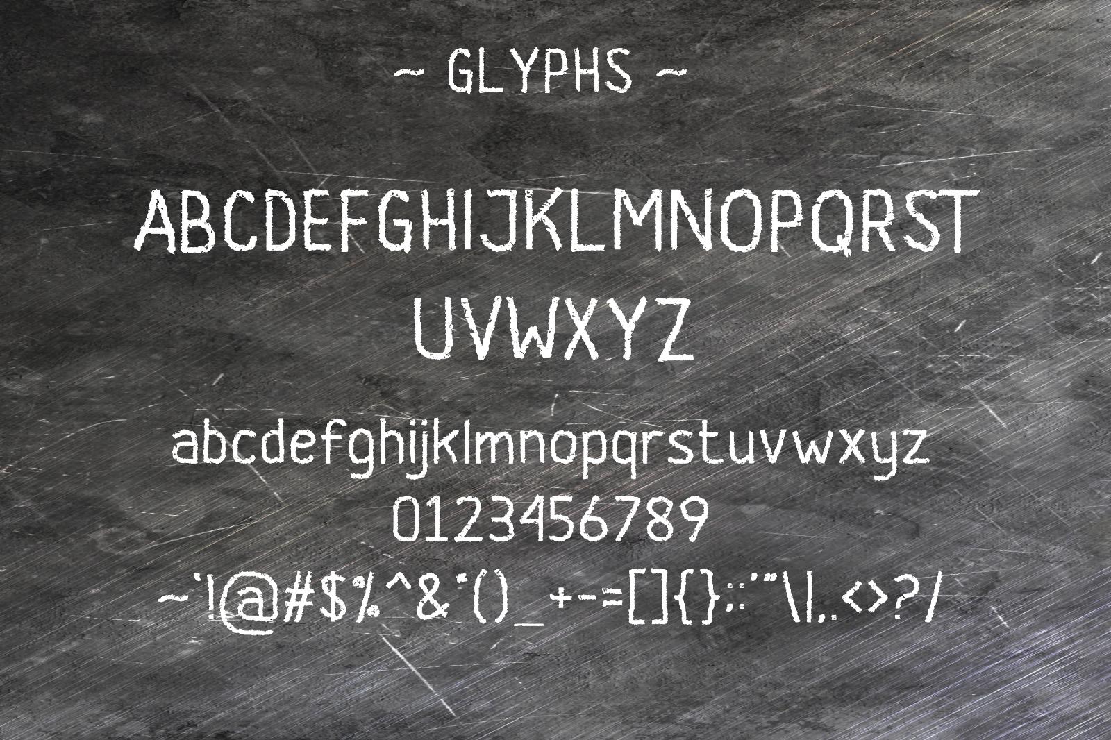 Banda Typeface Font example image 3