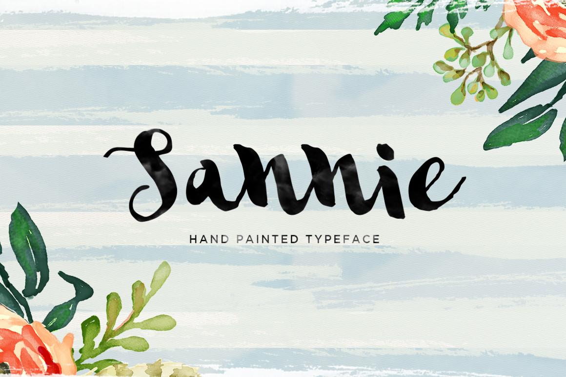 Sannie Typeface example image 1