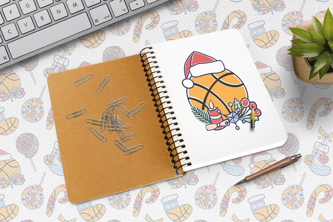 Christmas Basketball example image 3
