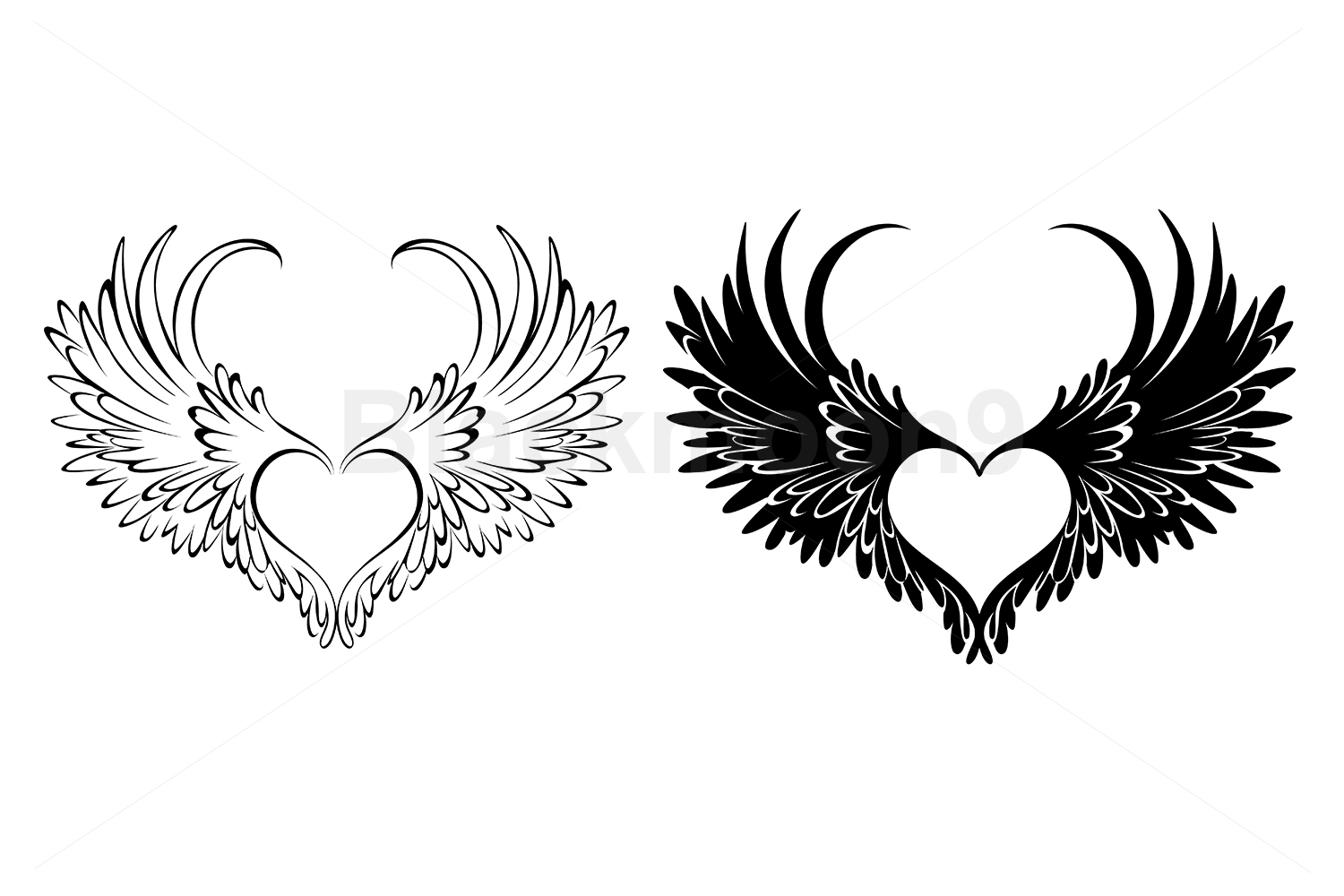 Two Angel Hearts example image 1
