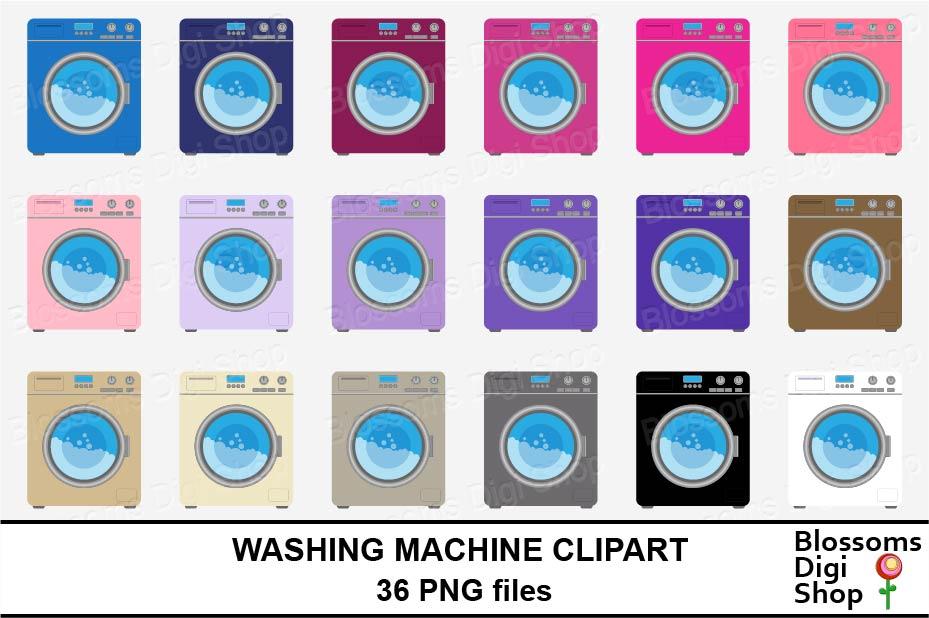 Washing Machine Clipart example image 3