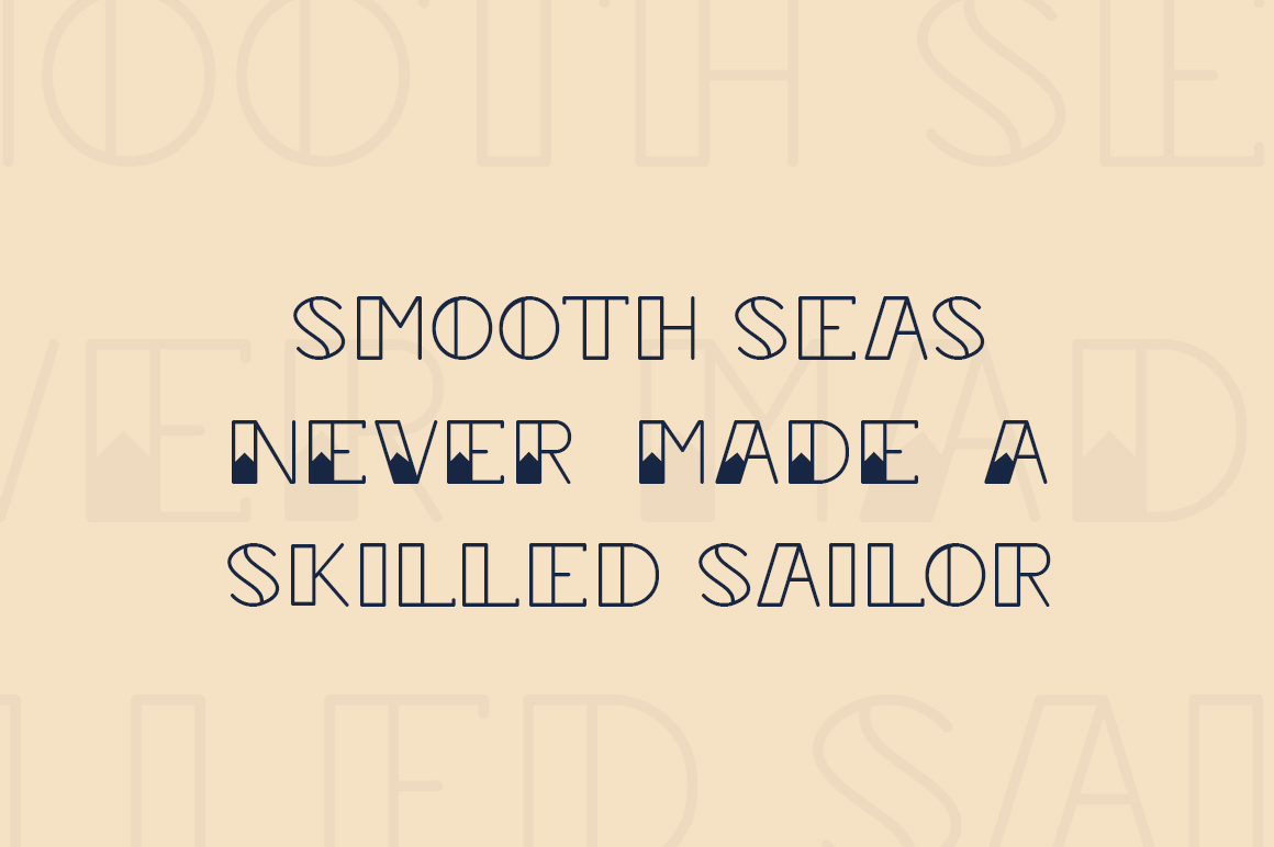 Sailor Girl Font Duo example image 3