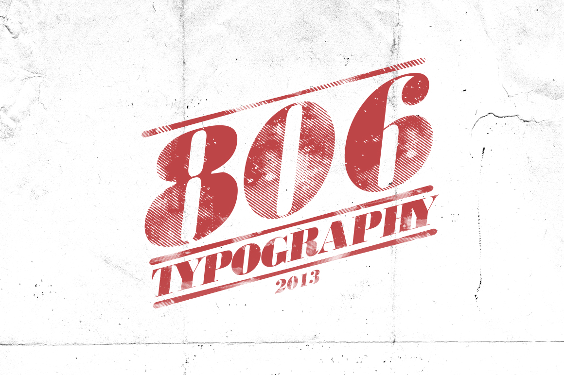 806 Typography example image 1