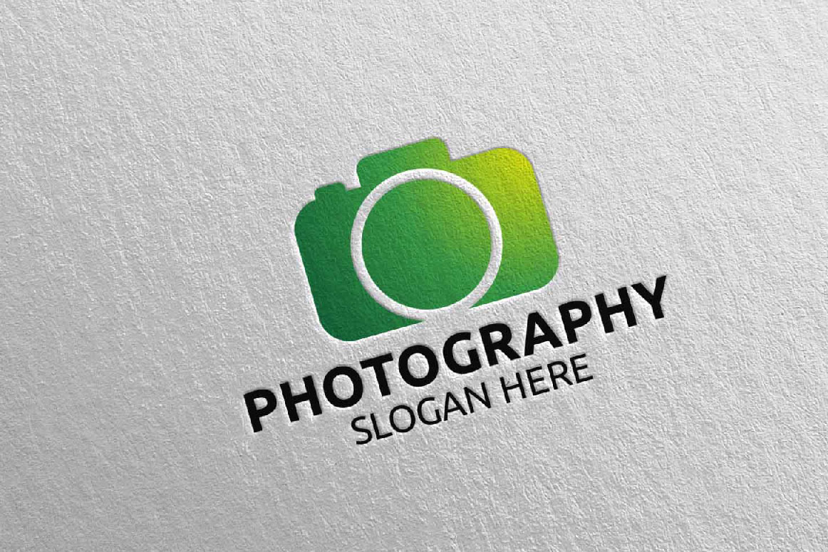 Abstract Camera Photography Logo 15 example image 3