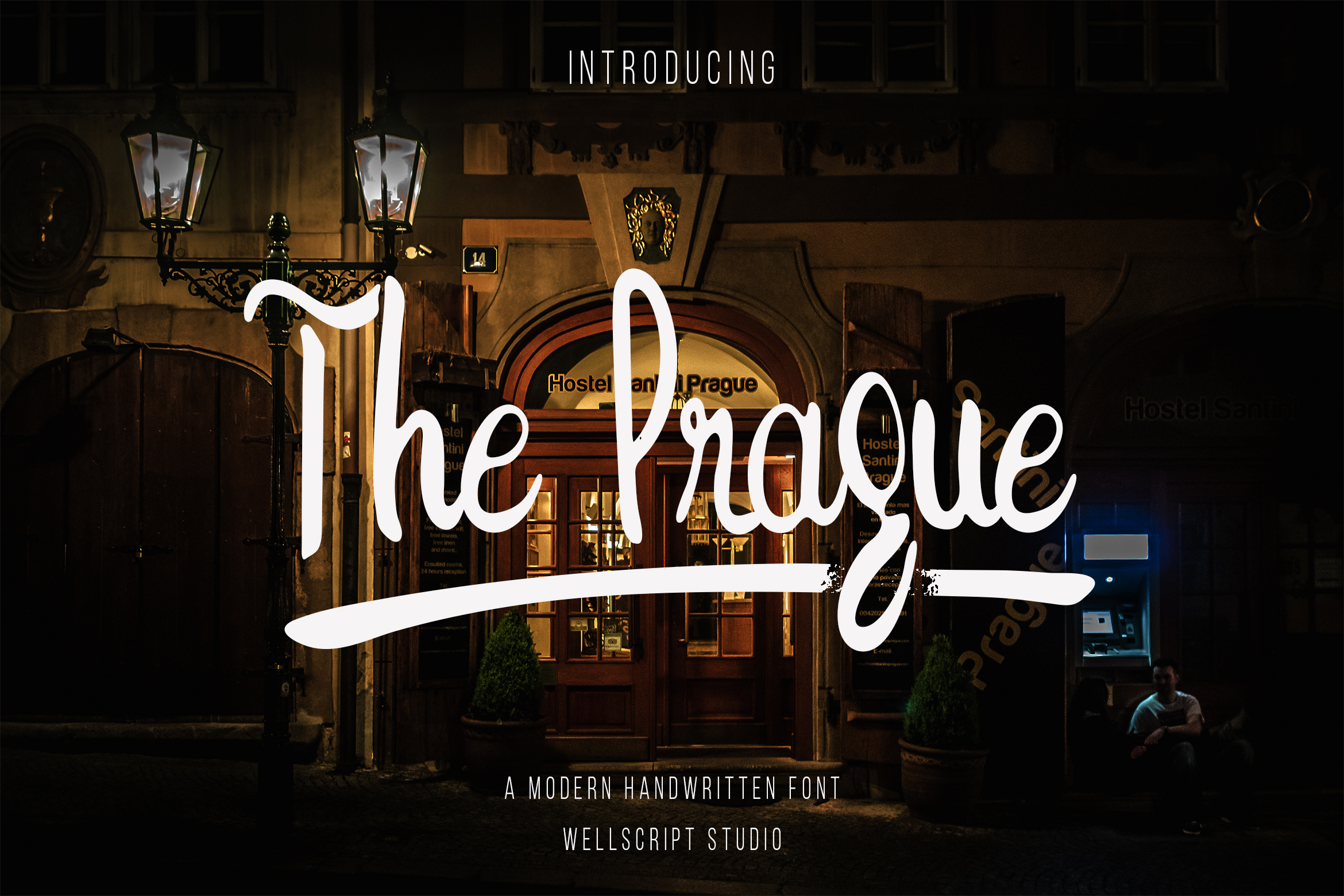 The Prague - A Modern Handwritten Font example image 1