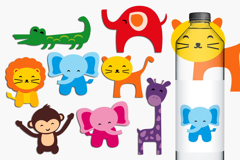 Sea animals, bugs, wild animals clip art - Graphics Bundle example image 3