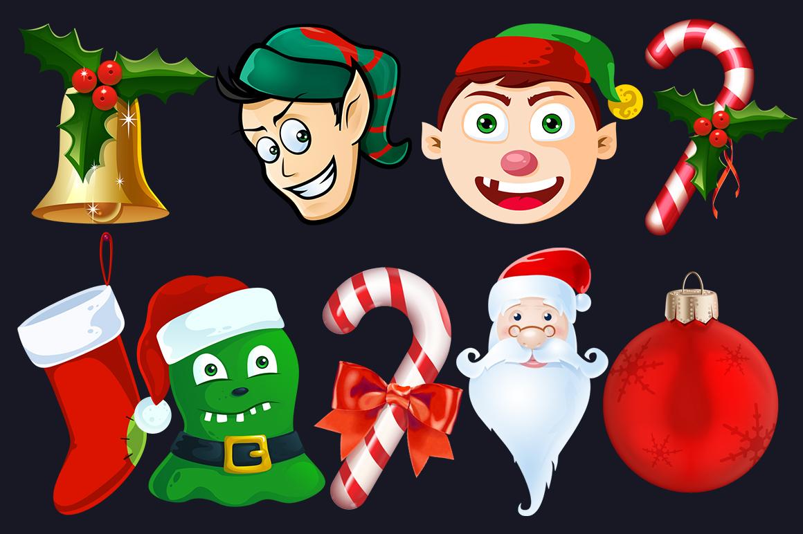Cartoon Characters & Items Bundle example image 14