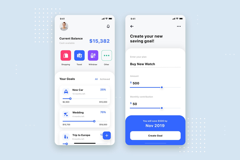 Curium - Financial UI Kit example image 15