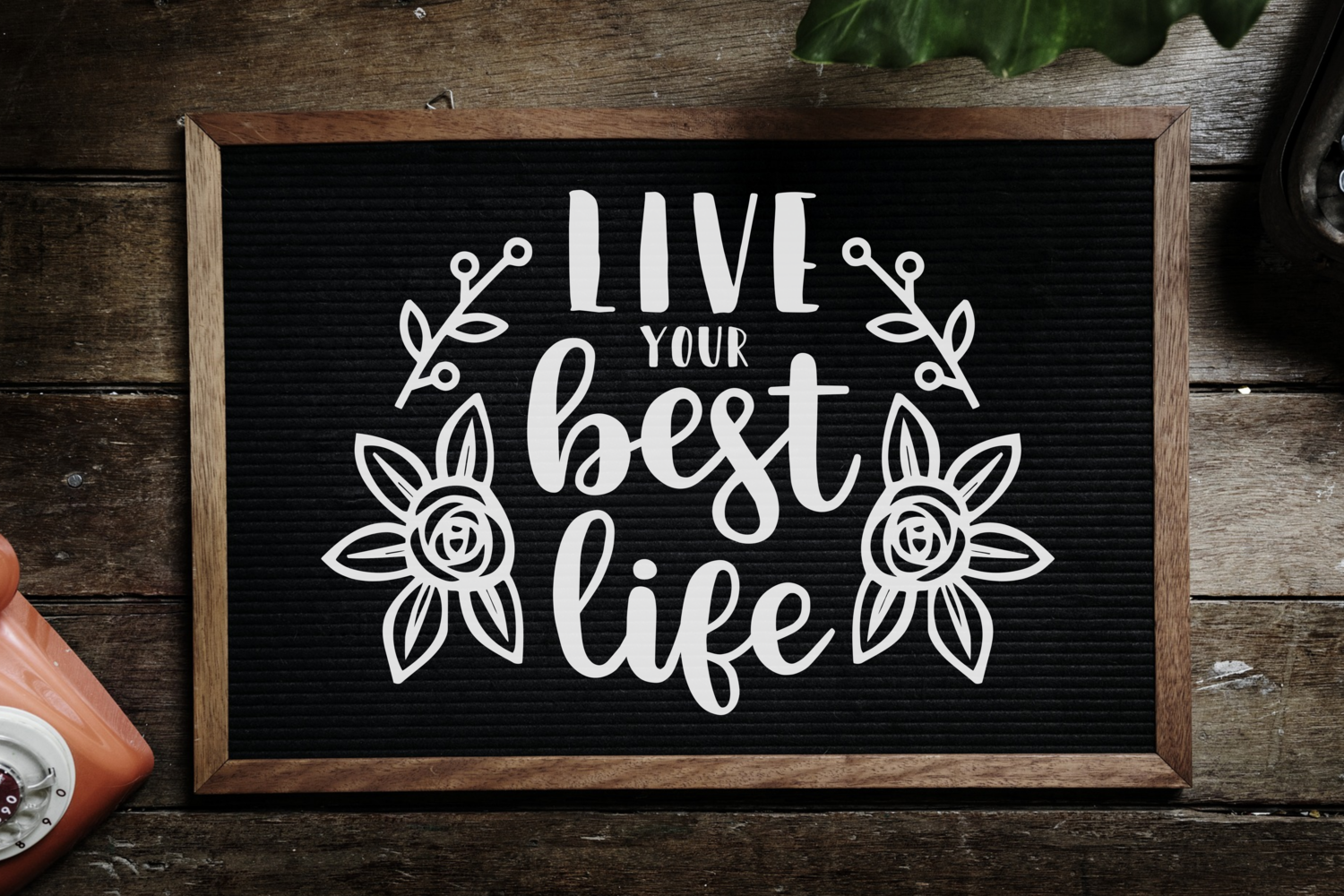 Inspirational quotes svg Bundle example image 5