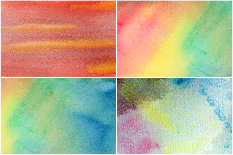 50 Watercolor Backgrounds 05 example image 9