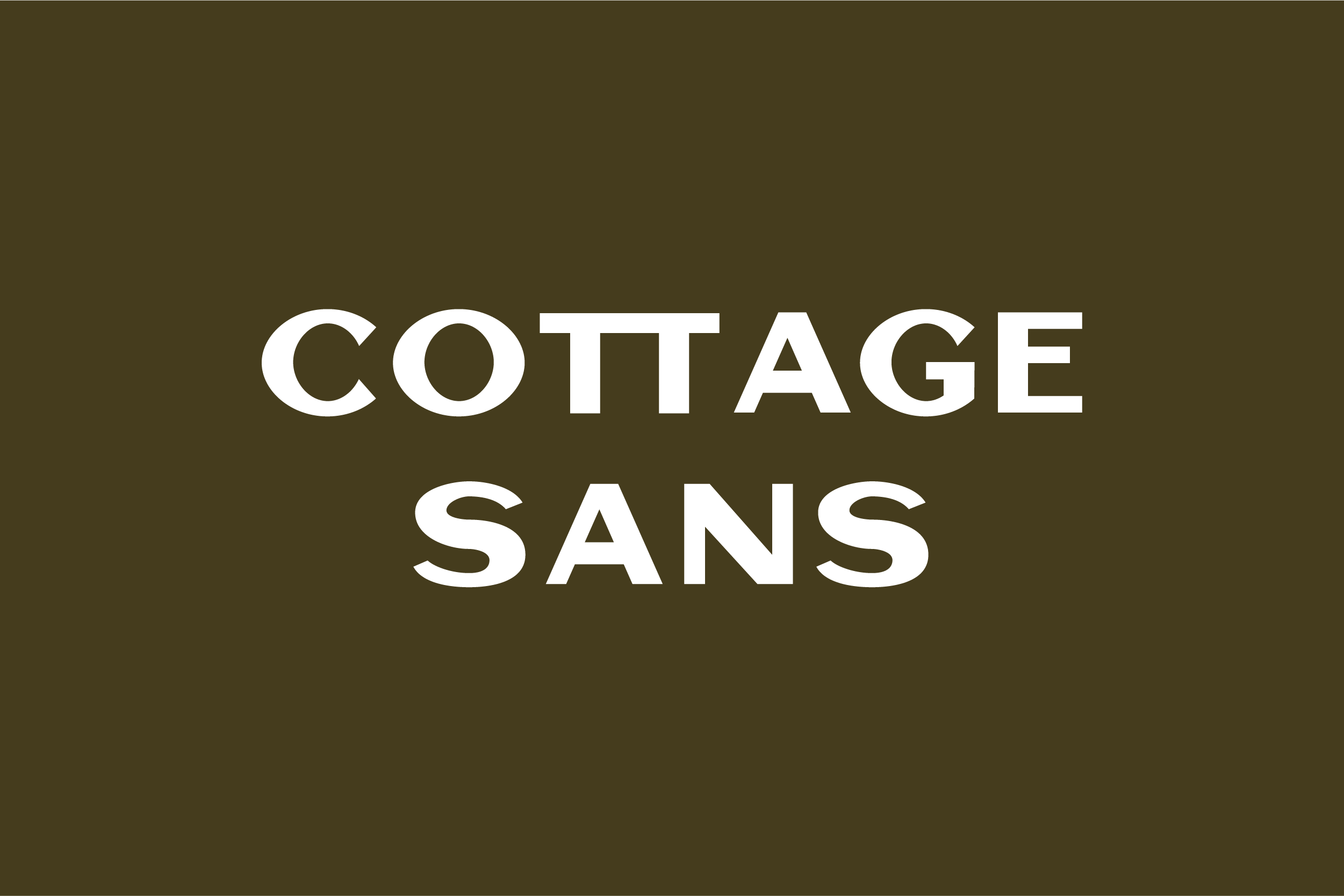 Cottage Sans - 1950's Style example image 5