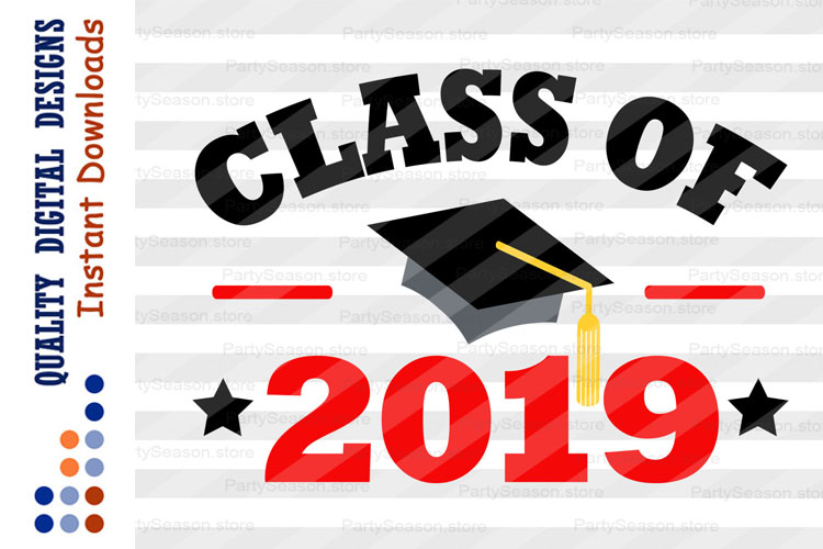 Class of 2019 Svg files Graduation svg example image 1