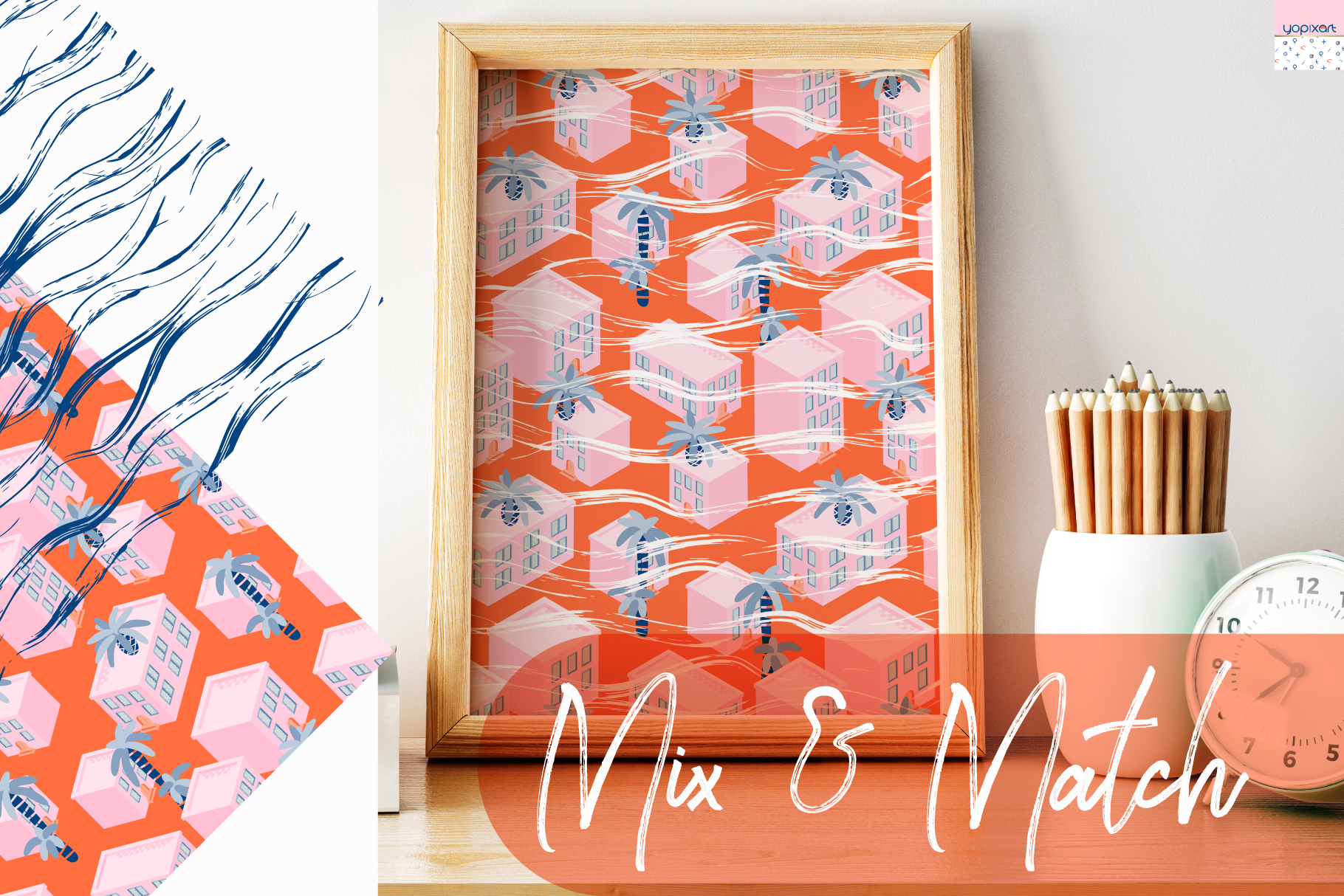 Summer Vibes - Graphics & Patterns example image 6