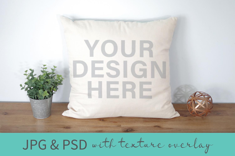 Mockup Bundle - Wineglass - Wood Sign - Pillow PSD JPG example image 4