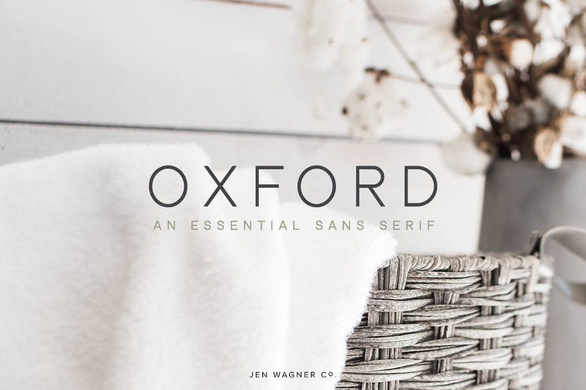 Oxford | An Essential Sans Serif example image 1