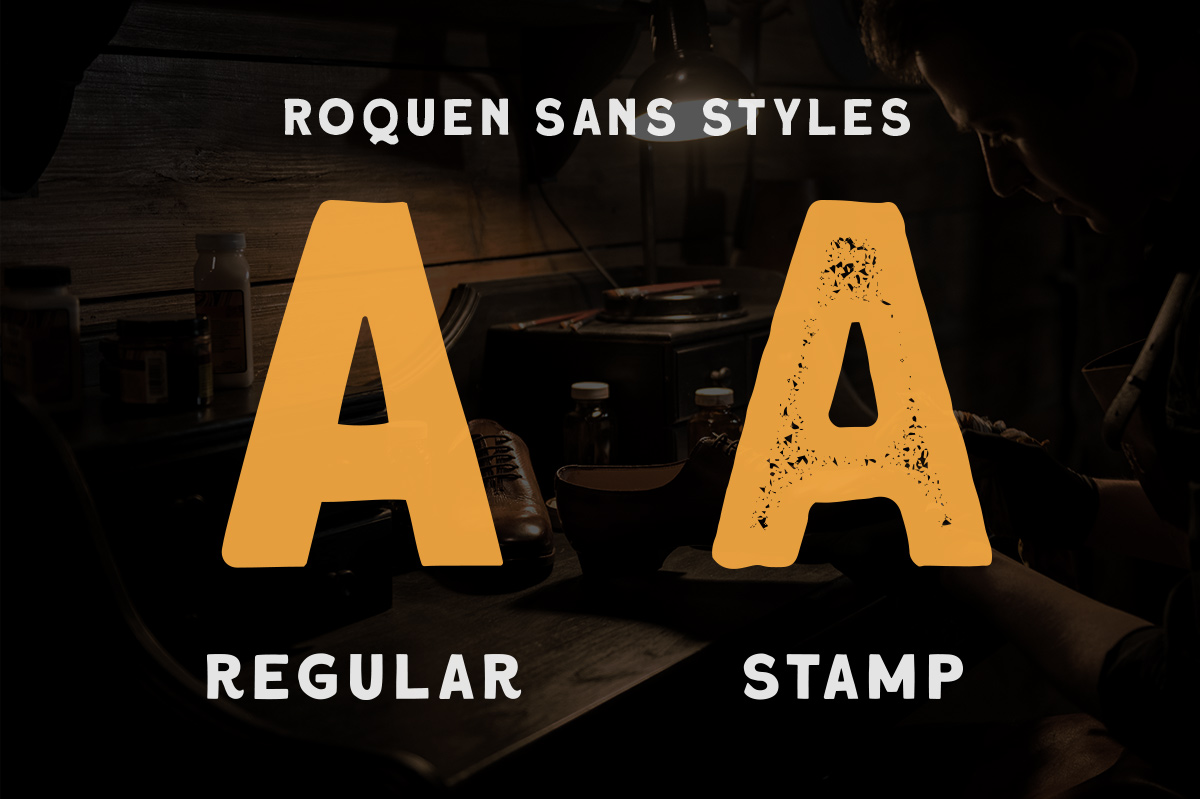 Roquen - A Hand Drawn Typeface example image 3