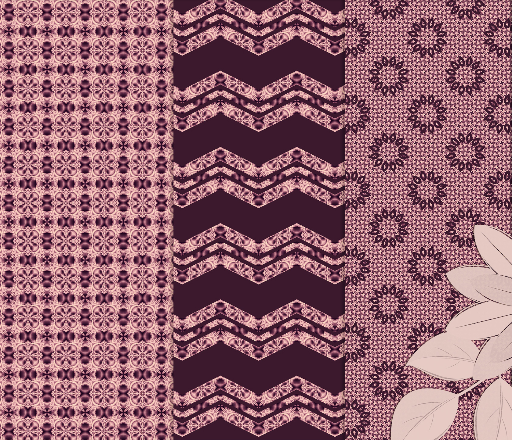 Burgundy abstract Scrapbook Paper example image 6