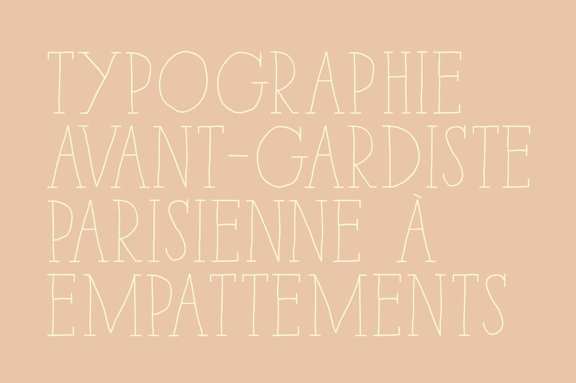Paris Serif Family example image 2