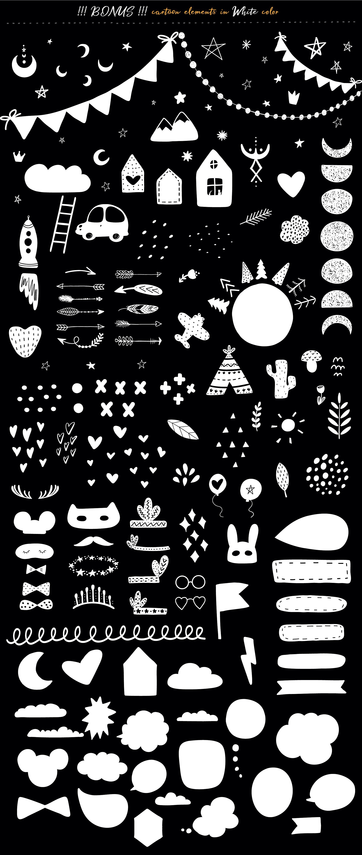 Scandinavian Monochrome for kids example image 5
