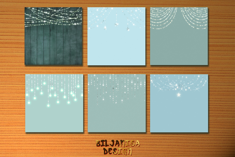 Seafoam Fairy Lights example image 4