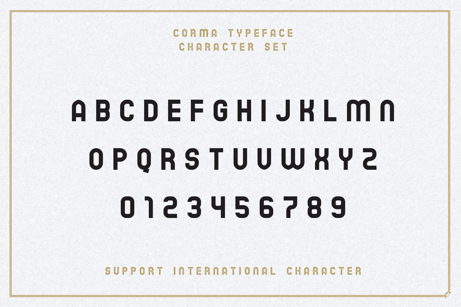 The Corma - 4 Font Files example image 5