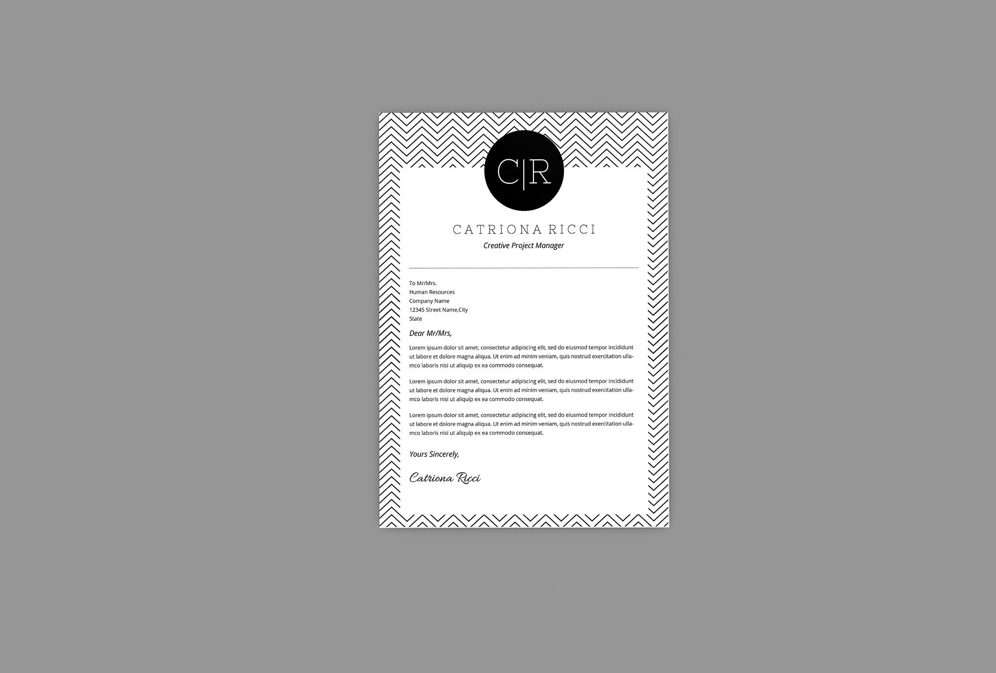 Carry Resume Designer example image 3